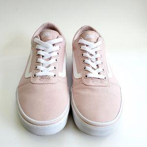 Vans Old Skool Skate Shoes Low Zephyr Pink 11
